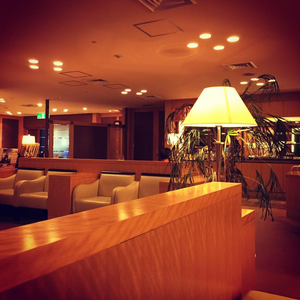 関西国際空港 大韓航空ラウンジ 雰囲気