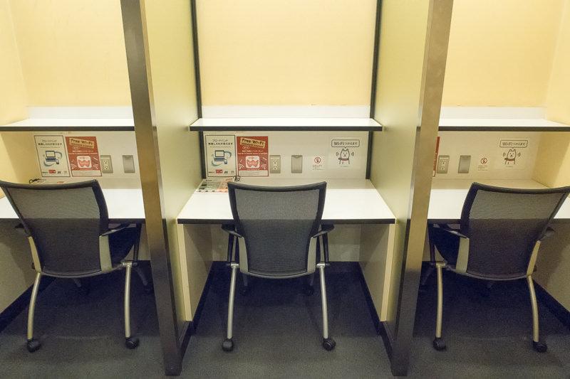 函館空港 A Spring ラウンジの椅子