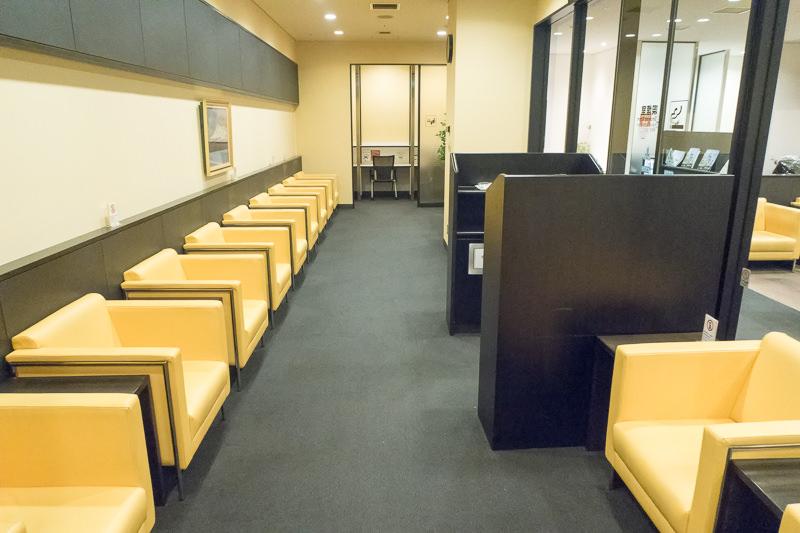 函館空港 A Spring 喫煙室