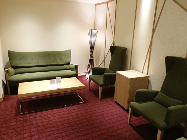 JCB Lounge 京都の中の様子