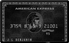 アメリカン・エキスプレス・センチュリオン・カード