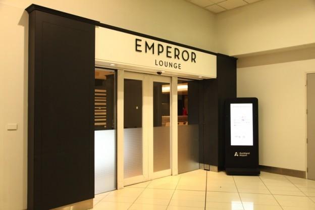 オークランド国際空港 EMPEROR LOUNGE
