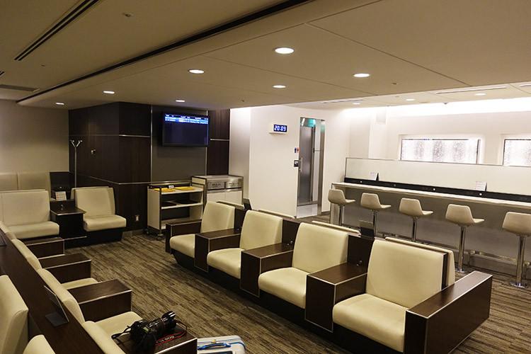 関西国際空港ANAラウンジ1