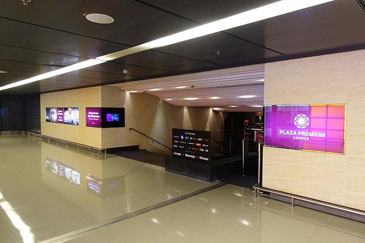 香港国際空港PLAZA PREMIUM LOUNGE外観
