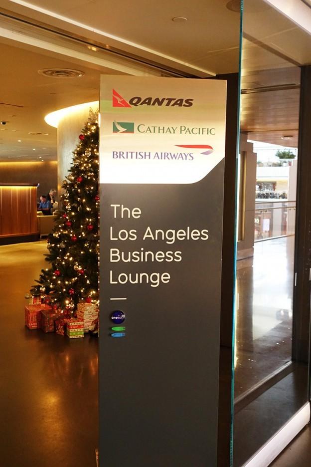 ロサンゼルス国際空港(LAX)one worldラウンジ