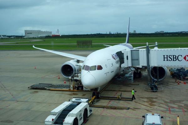 タイ航空 B787-8