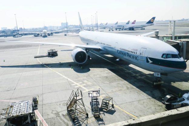 キャセイパシフィック航空(CX748便)ビジネスクラス搭乗記 ヨハネスブルグ – 香港 777-300ER