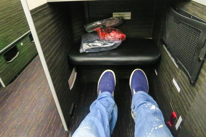 シートピッチ JAL