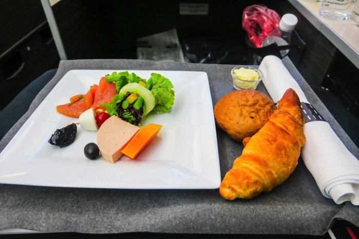 JAL機内食  ビジネスクラス