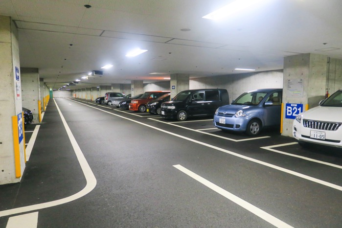 Westin 淡路島駐車場