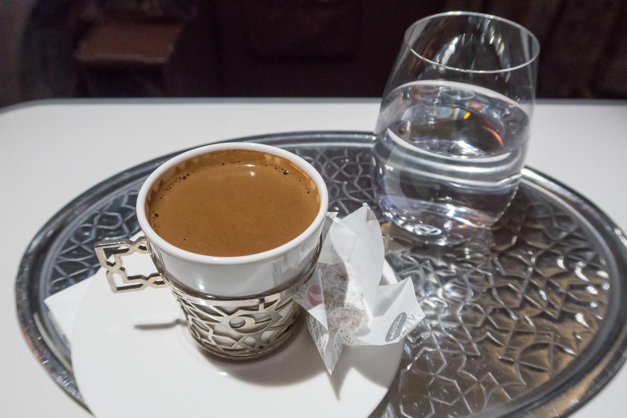 ターキッシュエアラインズ_トルココーヒー