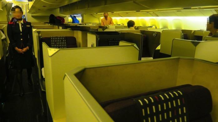 JALビジネスクラス搭乗記