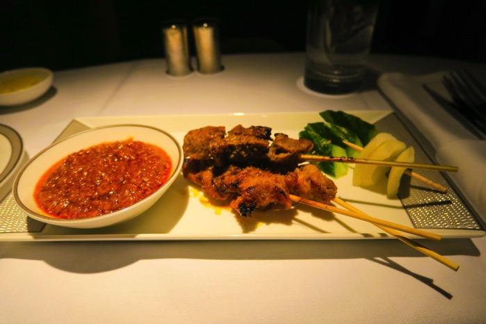 チキンと子羊のシンガポール風ソテー