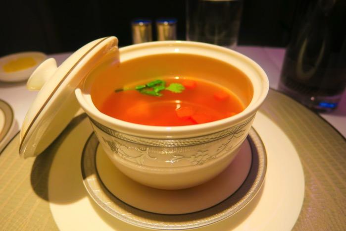 オリエンタル風味ビーフスープ